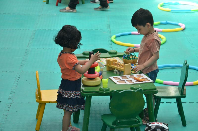 Admission Procedure in play school